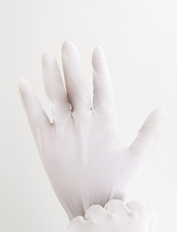 Photo 6 medical nitrile gloves white