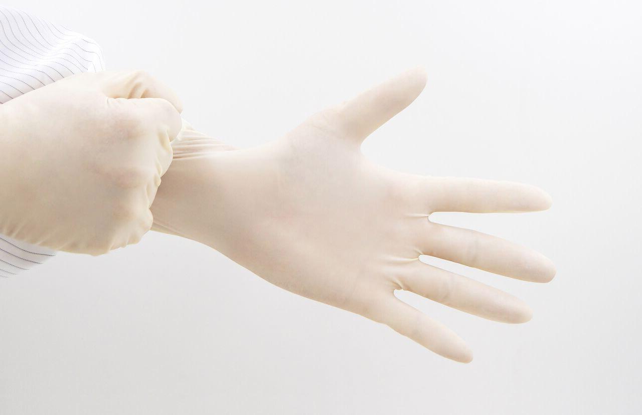 sterile nitrile gloves